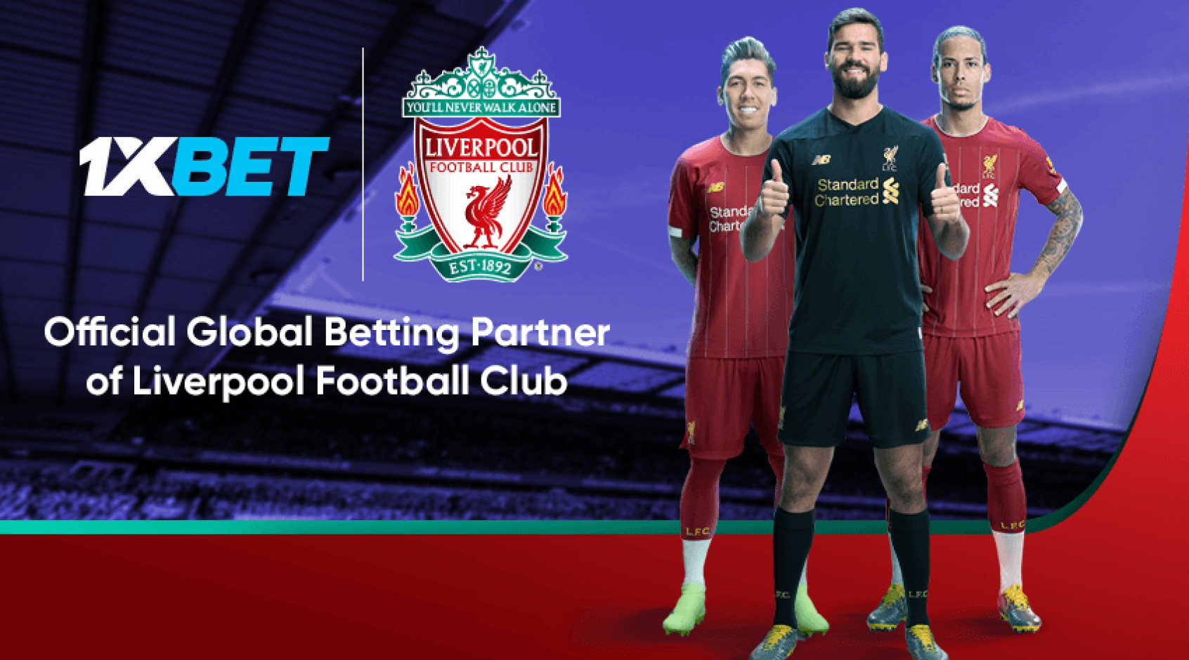 FC Liverpool and 1xBet