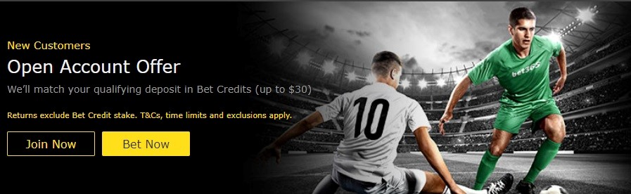 Bet 365 Promotions - open account offer