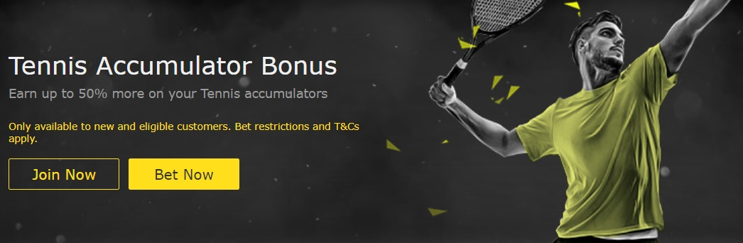bet 365 bonus on tennis