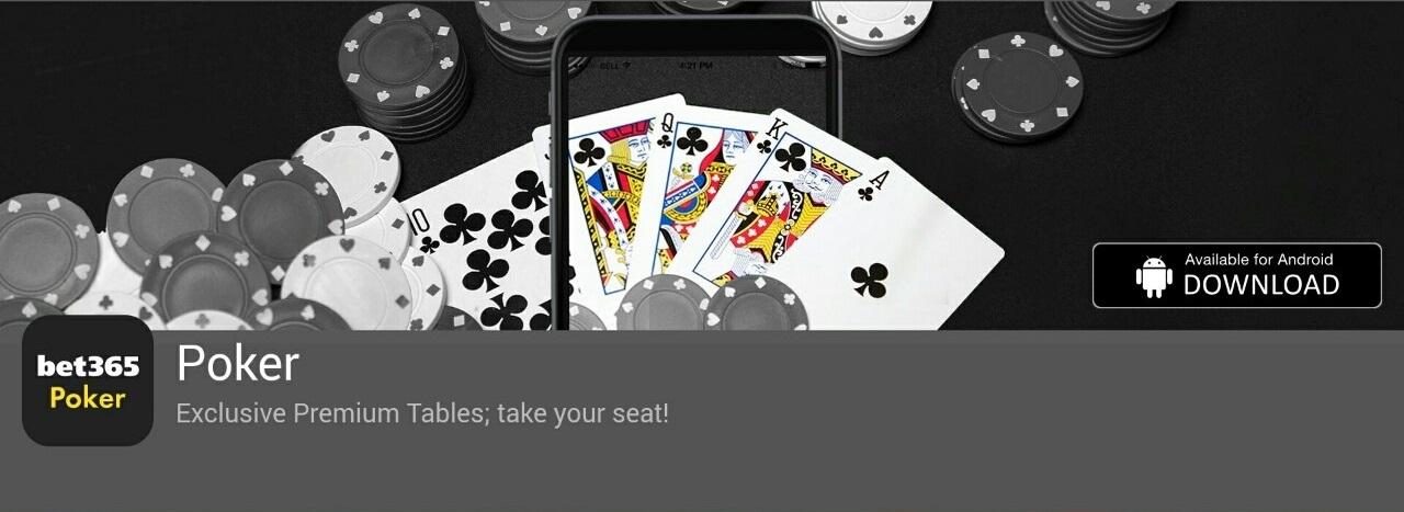 bet 365 poker app