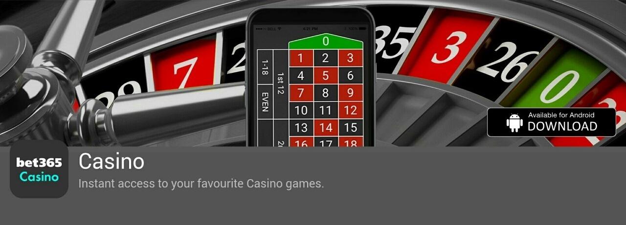 Casino bet365 mobile app
