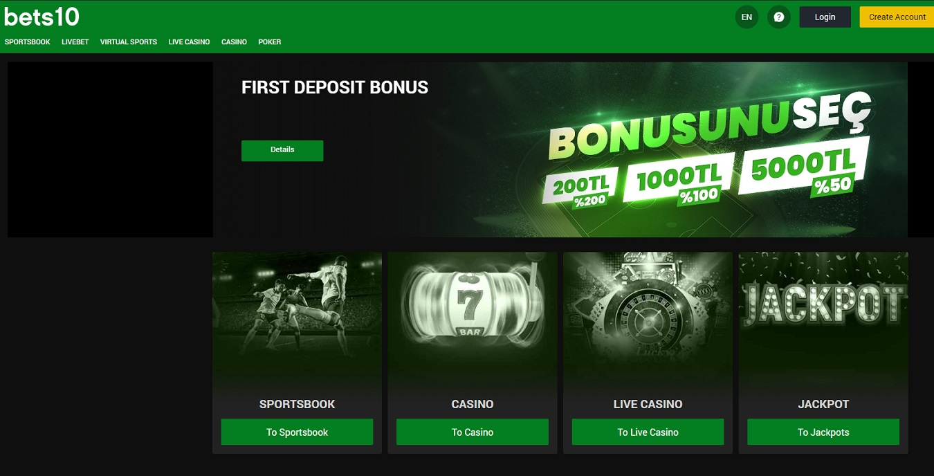 Bets10 review