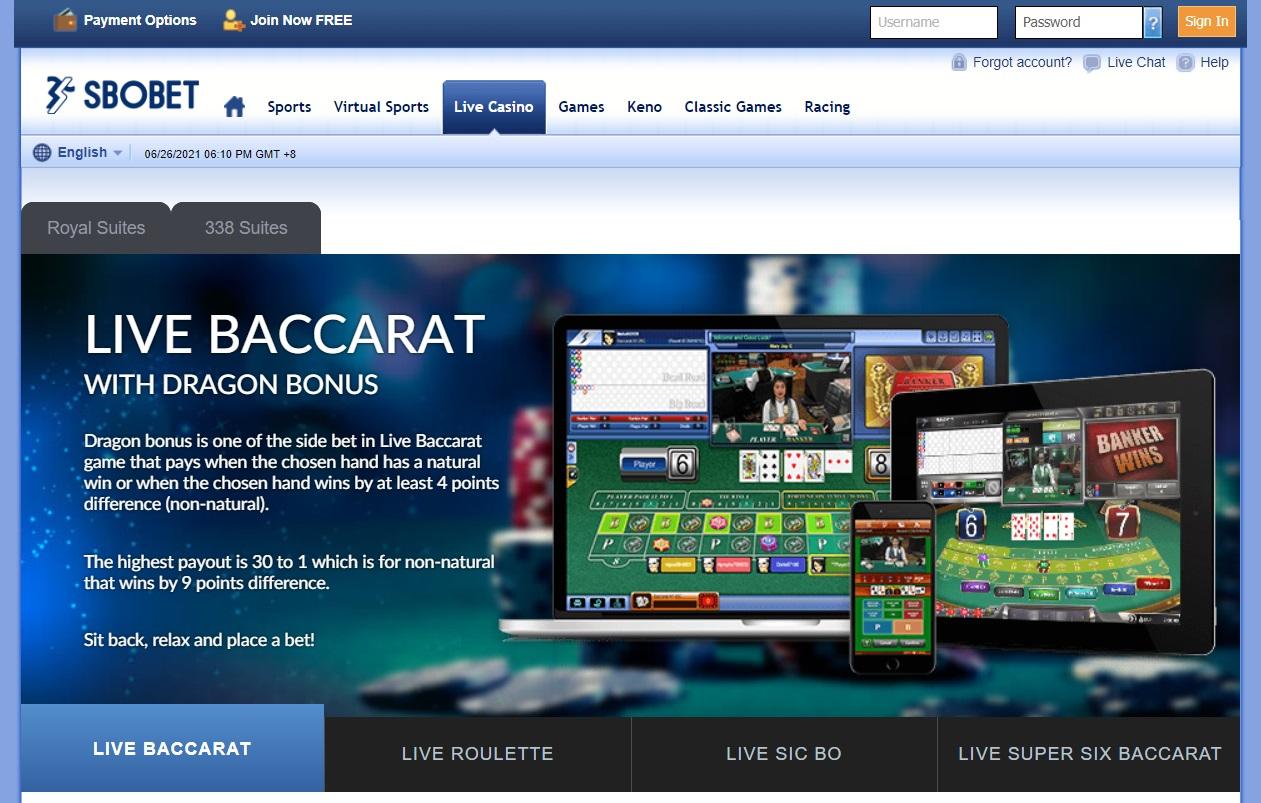 live casino sbobet com