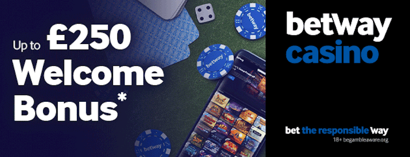 Betway Casino: Match Bonus
