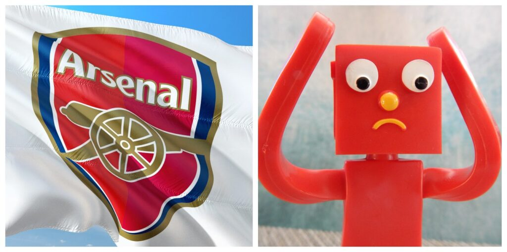 Arsenal FC frustrated