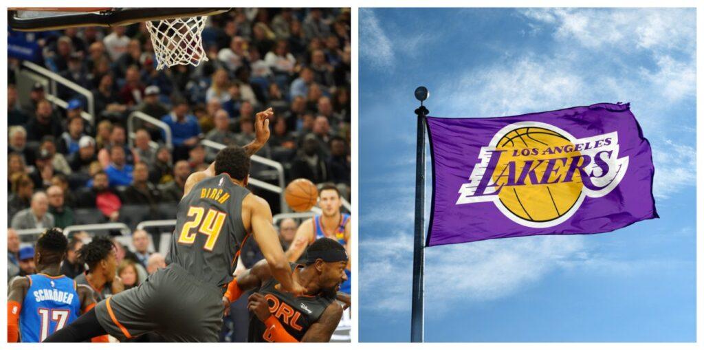 Thunder versus Lakers