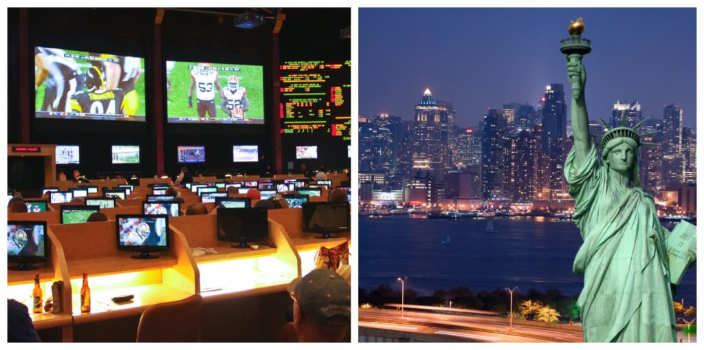 Sports betting in US and ny view