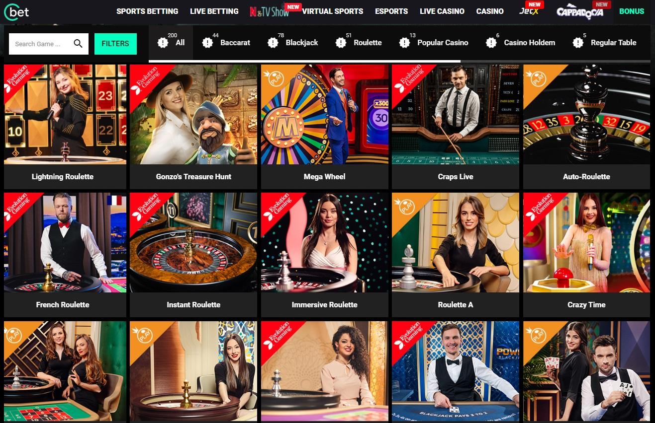 Casino Cbet gg com