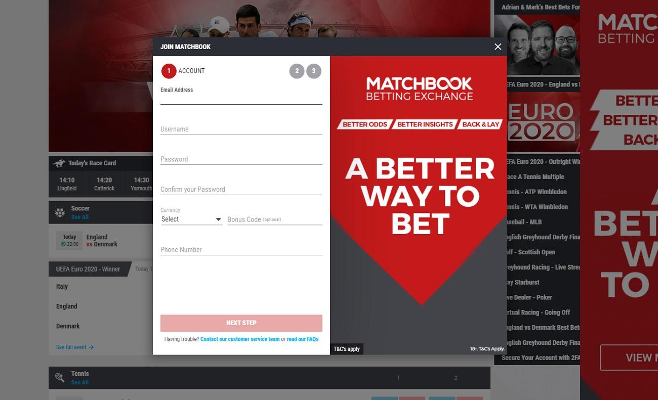 Matchbook sportsbook